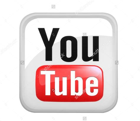 youtube icons  sample  format