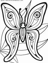 Coloring Pages Butterfly Abstract Printable Rainforest Adults Animals Adult Cute Books Mandala Preschool Sheets Animal Barn Flower Templates Insect Printables sketch template