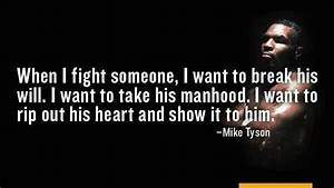 Mike Tyson Quot... Fight Boxing Quotes