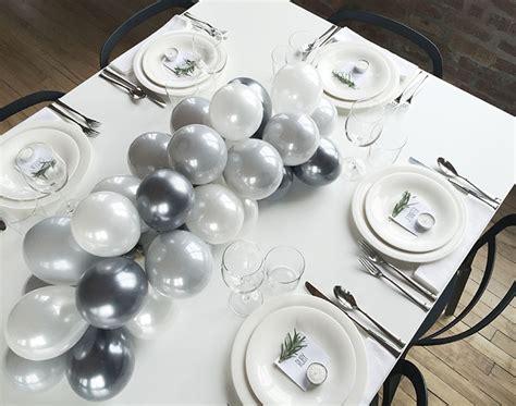 diy balloon table centerpieces diy balloon centerpiece design sponge