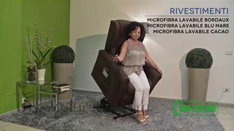 Poltrona Reclinabile Anziani Usata : Poltrona Elettrica Per Anziani E Disabili Relax Bergere