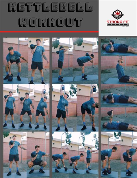 kettlebell body exercises training workout core compound