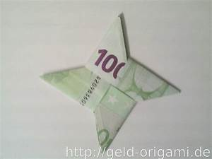 Geschenke Für 5 Euro : stern aus zwei geldscheinen falten origami mit geldscheinen ~ Buech-reservation.com Haus und Dekorationen