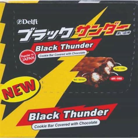 black thunder delfi coklat shopee indonesia