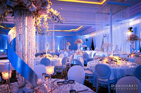 theme wedding decoration ideas cinderella wedding theme table in blue 1548