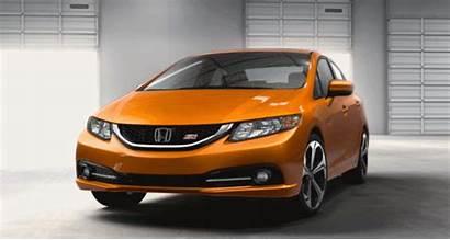 Honda Civic Si Sedan Gif1 Ornge Spinner