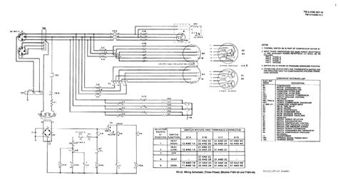 Wiring 3 Schematic by Fo 11 Wiring Schematic Three Phase Model F18h 3a And