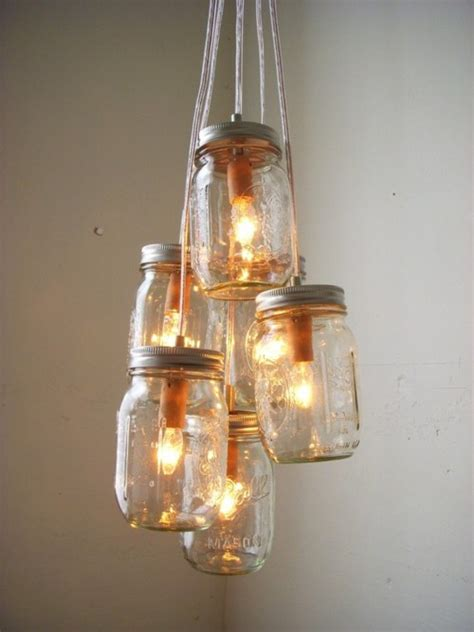 untitled 1 jar chandelier