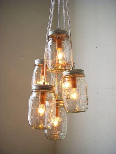 untitled 1 jar chandelier