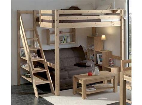 canapé lit 140x190 les 25 meilleures idées de la catégorie lit mezzanine sur