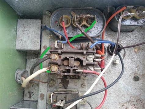 contactor wiring doityourself com community