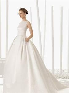 bateau neckline wedding dresses for the chic bride mywedding With bateau wedding dress