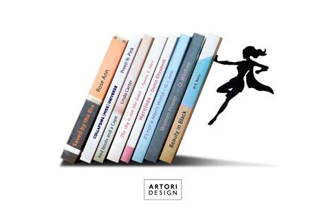 Supergal Bookend From Artori Design  Pop Culture Nod Of