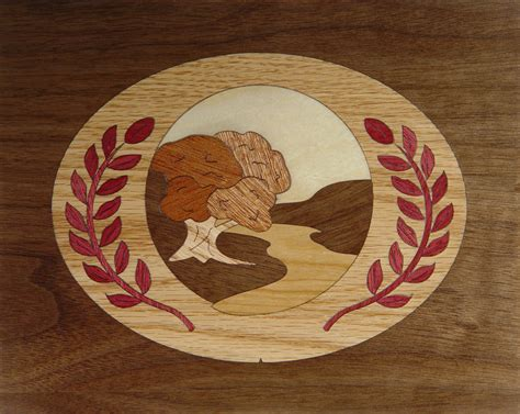 marquetry project kit cameo