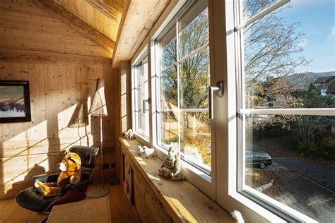 Filigranes Fenster Und Schiebetuersystem by Holz Metall Fenster Schiebet 252 Ren Haust 252 Re Wohnhaus