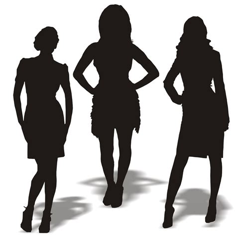 Vector for free use: Business women