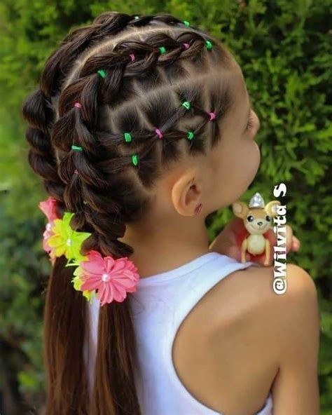 Pin by Dorita Rico on Hair styles for girls Hair styles