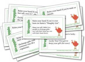 wrapple christmas gift exchange game christmas party pinterest