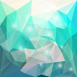 Resumen brillante de color fondo triangular geométrica poligonal con luces evidentes para el uso