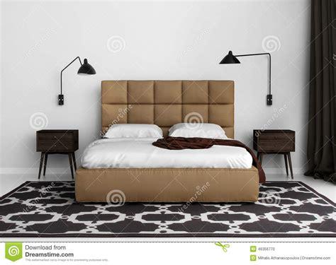 chambre en l chambre à coucher de luxe élégante contemporaine avec le