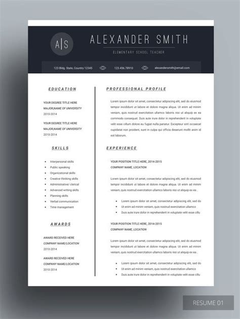 Resume Features by Lexan Resume This Lavishing Resume Template Features Simplicity Unique Design Yet Sophisticated