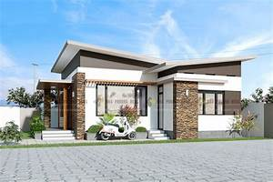 3, Bedroom, Small, Modern, House