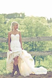 cowboy boots say yes to the dress pinterest With wedding dress with boots
