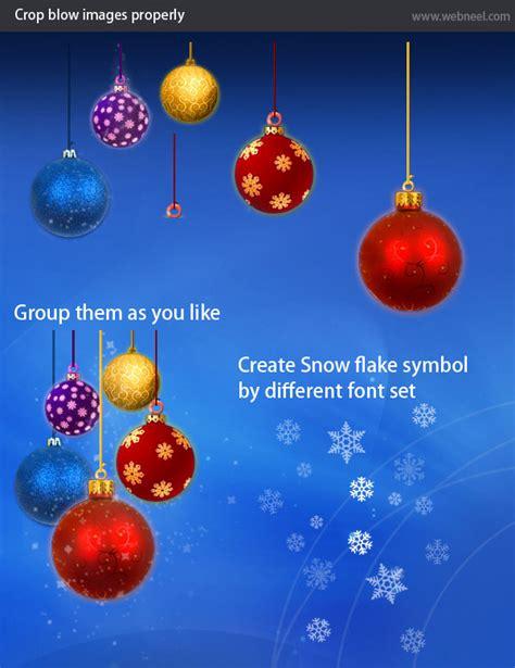 create  beautiful christmas greeting card design
