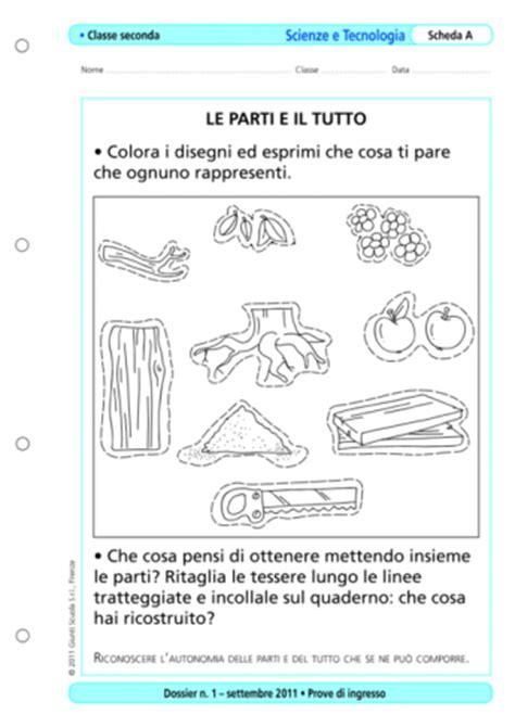Prove Ingresso Prima Media by Prove D Ingresso Scienze E Tecnologia Classe 2 La Vita