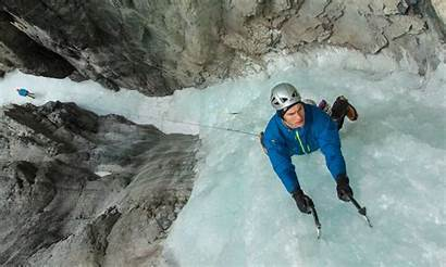 Ice Climbing Banff Canmore Area