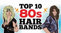 Top 10 80s Hair Bands To Remind You How Unforgettable That ...