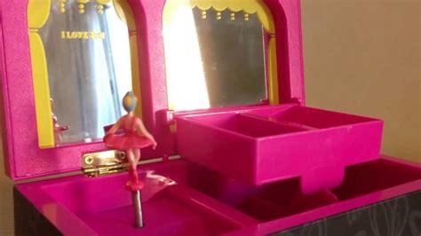 cajita musical alhajero bailarina ballet caja de