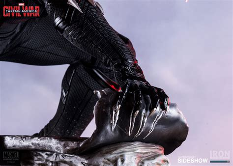 Marvel Black Panther Polystone Statue Iron Studios