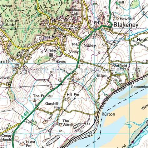 Os Landranger Active Map 162 Gloucester & Forest Of Dean