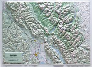 Raised Relief Maps 3d Topographic Map National Park Series
