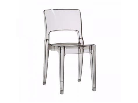 chaise en polycarbonate isy chaise en polycarbonate by scab design design roberto