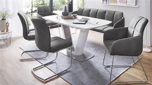 Esszimmer Mit Bank Und Stühle : stuhl tessera in grau und edelstahl armlehnstuhl ~ Sanjose-hotels-ca.com Haus und Dekorationen