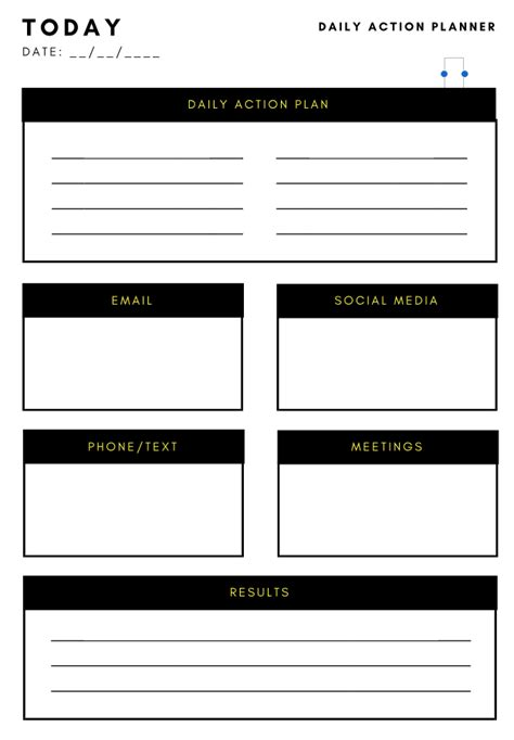 action plan template 10 effective plan templates you can use now