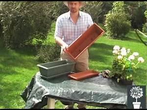 Comment Remplir Une Grande Jardinière : r aliser une jardini re de g raniums mon eden youtube ~ Melissatoandfro.com Idées de Décoration