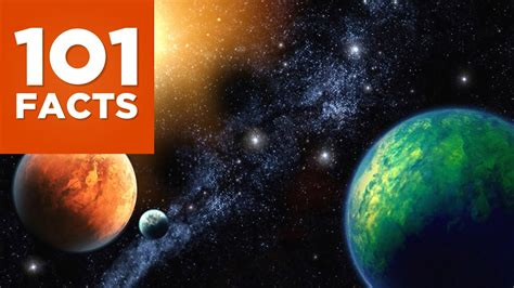 101 Facts About Space - YouTube