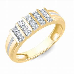 tradition diamond men39s 10k yellow gold 16 cttw certified With kmart wedding rings on sale