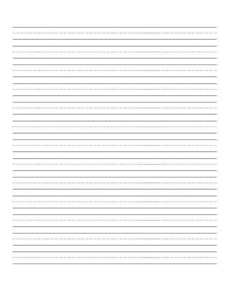 printable blank writing worksheet education writing