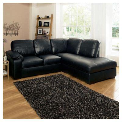 black leather corner settee buy ashmore leather corner sofa black right facing