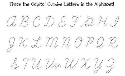 cursive capital a cover letter exle