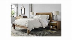sierra king bed crate and barrel With bedroom furniture sets crate and barrel