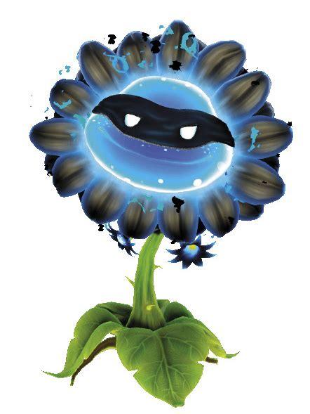 plants vs zombies garden warfare characters shadow flower by plantsvszombies gw on deviantart