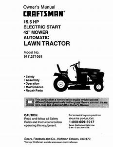 Craftsman 15 5 Hp Riding Mower Wiring Diagram