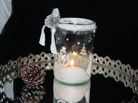 diy winter windlicht glitzer glitter selbstgemacht