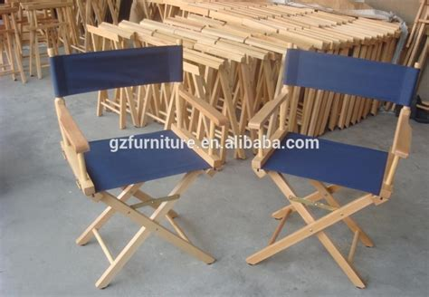 canvas folding wooden director chair buy wooden director