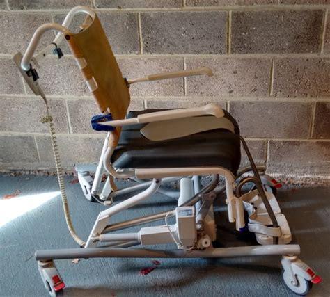 aquatec s e vip tilting shower commode chair